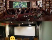 8000万かけて自分達で映画館作るぞ!→結果「理想と全然違う」スクリーンと椅子だけ置いた簡易ホームシアター完成