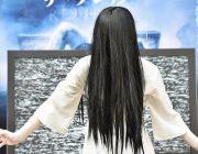 """【映画】貞子が""""35億""""ポーズ決めた、興収目標聞かれ"""