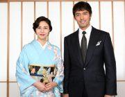 【映画】阿部寛、松嶋菜々子の着物姿にほれぼれ「やっぱ超キレイだな」
