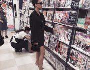 【海外芸能】キム・カーダシアンが「アニメイト新宿店」にいた?異色の光景が話題
