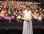 【芸能】乃木坂46堀末央奈 初主演映画舞台あいさつ「福岡に住みたいな」