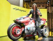 【海外芸能】キアヌ・リーブスが東京ゲームショウ 2019の『サイバーパンク2077』ブースにサプライズ来場