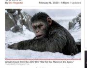 映画『猿の惑星』の新作が公開 しかしファンから不満の声が上がっているのは?